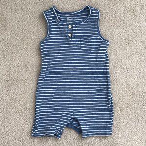 Gap baby boy stripes romper